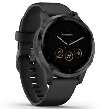 Buy <b>Garmin Vivoactive 4S GPS</b> Smart Watch - Gunmetal /Black Band
