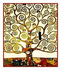 Art Deco Cross Stitch Charts Art Nouveau Artist Gustav Klimts Tree Of Life Detail Counted Cross Stitch Chart Graph