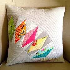 144 best Quilted Pillows images on Pinterest | Cushions, DIY and ... & Quilted pillow. Adamdwight.com