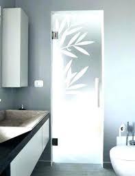 frosted glass panels bathroom interior doors with door p
