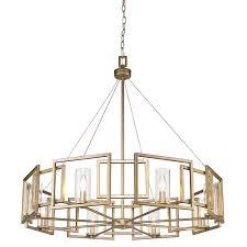 golden lighting chandelier. Golden Lighting 6068-8-WG Marco WG 8 Light Chandelier In White Gold With R