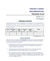 Software Implementation Plan Template Excel Software Training Template Software Implementation Plan Template New