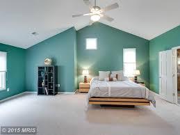 Modern Master Bedroom Modern Master Bedroom With Carpet Ceiling Fan In Reston Va
