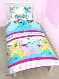 rainbow baby bedding set my little pony bedding set my little pony rainbow dash single bedding