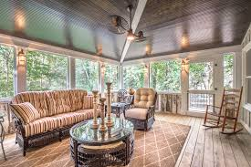 country style screened porch in chesterfield va