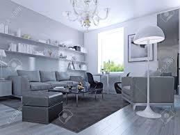 Modern Style Living Room Living Room In Modern Style Elegant Living Room With White Walls