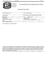 Fax Civer Sheet Irs Cover Letter Rome Fontanacountryinn Com