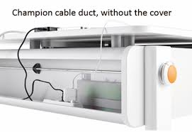 office cable protector. View And Download Champion Desk Cable Duct Cover Assembly Instructions PDF. Office Protector