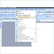 Microsoft Word 2007 Resume Template Resume Example