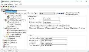 Microsoft Access Scheduler To Compact And Repair Databases And