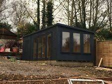 Home office in the garden Build Your Own 20ft 10ft Garden Room Home Office Annex Summer House Man Cave Work From Home Wisdom Garden Home Offices Ebay