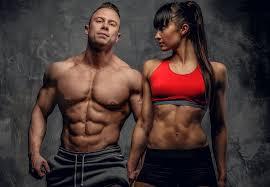 Masturbation and body building