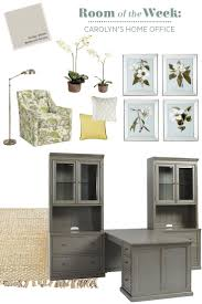 double desks for home office. Decorating A Home Office With Gray. Two DesksDouble Double Desks For