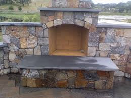 charming outdoor isokern fireplaces with retailing wall for outdoor living ideas