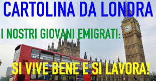 Risultati immagini per ITALIANI A LONDRA