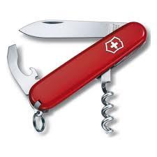 <b>Нож Victorinox</b> 0.3303 <b>WAITER</b>, 84 мм., красный — купить в ...