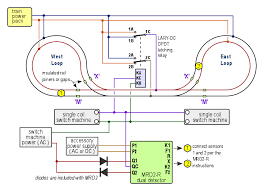 12vdc relay wiring diagram images pin relay wiring diagram in double reverse loop control for dc dcc or ac layouts snap