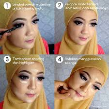 kebaya untuk hari kartini lengkap dengan tutorial make up dan model hijab hijab an