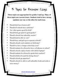 list of persuasive essay topics persuasive essay topics list of interesting topics for