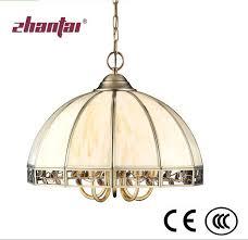 china zhantai european handmade brass pendant lamp for home decoration tiffany glass copper lamp china pendant lamp brass lamp