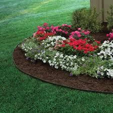 composite landscape edging lawn edging home depot mulch border