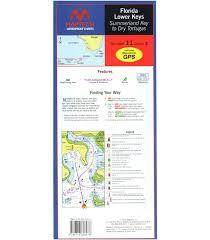 Maptech Florida Lower Keys Waterproof Chart 4th Edition 2015