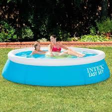 intex easy set pool. Intex 6ft X 20in Easy Set Swimming Pool #28101