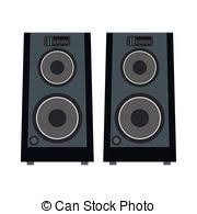 concert speakers clipart. concert speakers icon clipart n