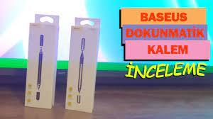 Baseus Universal Dokunmatik Telefon, Tablet Kalemi. Kutu Açılımı ve  İncelemesi - YouTube