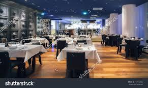 Restaurant Kitchen Furniture Modern Amsterdams Restaurant Open Kitchen Stock Photo 124542496