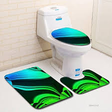linggt bathroom mats bath mats anti slip bath rug bathroom rugs 3 pieces non