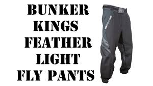 Bunker Kings V2 Supreme Pants Size Chart Bunker Kings Featherlight Fly Pants