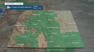 Flash flooding impacts Colorado Saturday