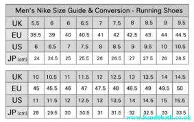 61 Genuine Nike Free Run Shoe Size Chart