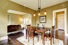 area dark brown table set dining area with dark brown dining table set and soft rug on