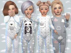 available in 4 designs found in tsr sims 4 toddler female sims