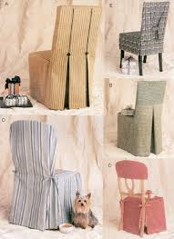Chair Cover Patterns Best CHAIR COVER Sewing Pattern 48 Vogue Seat Covers OOP SEWING