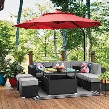 style selections soho 6 seat patio