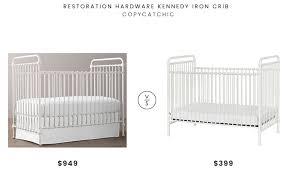 baby furniture for less. Restoration Hardware Kennedy Iron Crib $949 Vs Wayfair Million Dollar Baby Classics Abigail $399 White Furniture For Less E