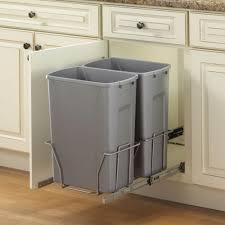 Kitchen Cabinet Garbage Can Under Cabinet Trash Can Best Home Furniture Decoration