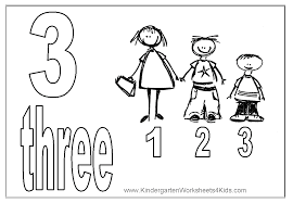 Small Picture Number 3 Coloring Pages For Toddlers Coloring pages for kids