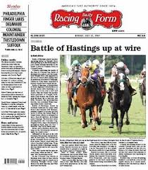 derby racing form racing form equibase daily racing form all world in online news