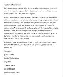 Layout Of A Recommendation Letter 40 Recommendation Letter Format Templates Free Premium