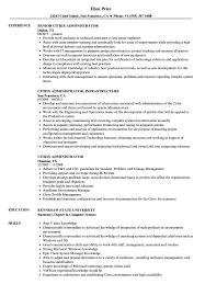 Citrix Administrator Resume Samples Velvet Jobs