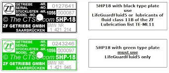 5hp18 Transmission Fluid Level Procedures Genuine Zf Parts