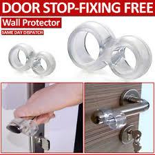 image is loading easy fix rubber practical door stop stopper wall