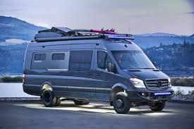 Perfect for remaining productive while on the road, entertaining business clients,. Off Grid 4x4 Mercedes Benz Sprinter 170 Ext Van Conversion Completely Custom Designed And Built By Outside Van In Oregon The Mercedes Camper Van Army Vehicles