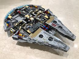 i have worked out a customized glass coffee table to integrate lego bricks into home decoration now everyone can enjoy the ucs millennium falcon while