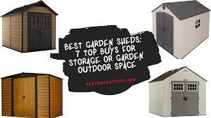 07 best garden sheds for storage in