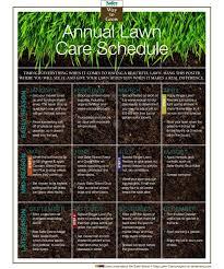 garden maintenance schedule 169 best turf care weed control images lawn maintenance calendar